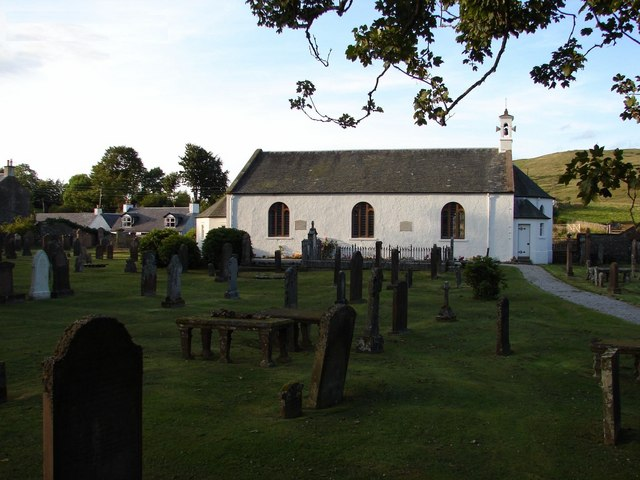 Carsphairn Parish Church & Graveyard