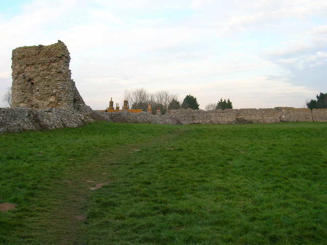 Outer Walls, Pevensey Castle