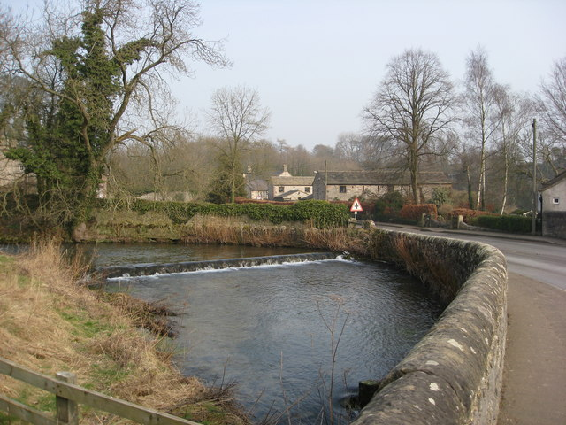 Alport - River Lathkill and Alport Lane View