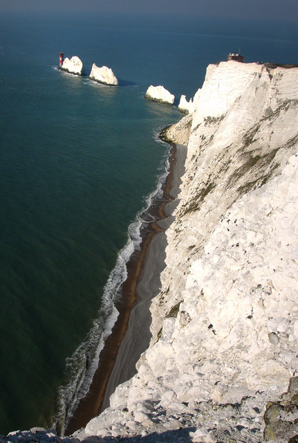 The Needles and Scratchell's bay