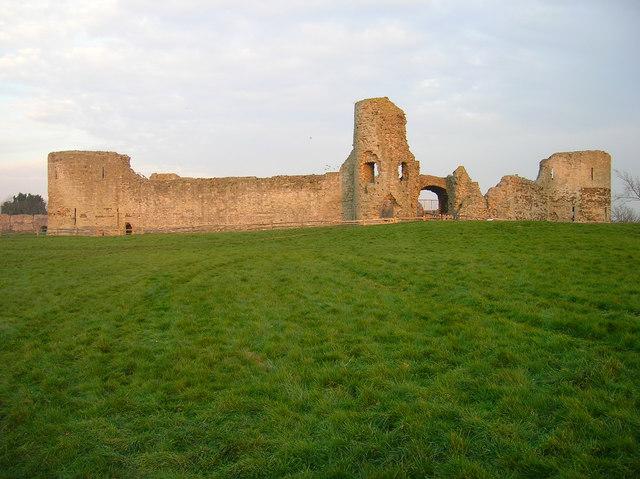 Inner Bailey, Pevensey Castle