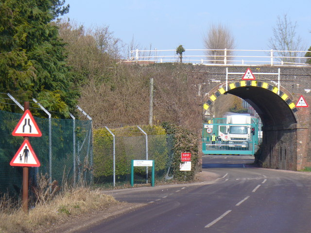 Quidhampton Railway bridge