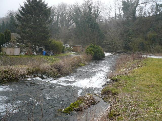 Alport - River Bradford runs into the River Lathkill