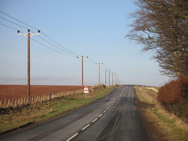 Duns - Greenlaw road