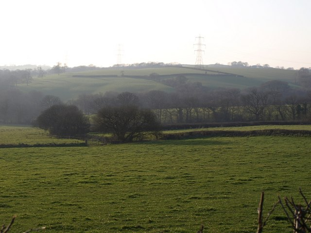 Fields near East Bridge Farm