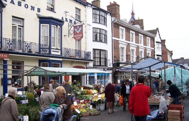 Street Market-Louth
