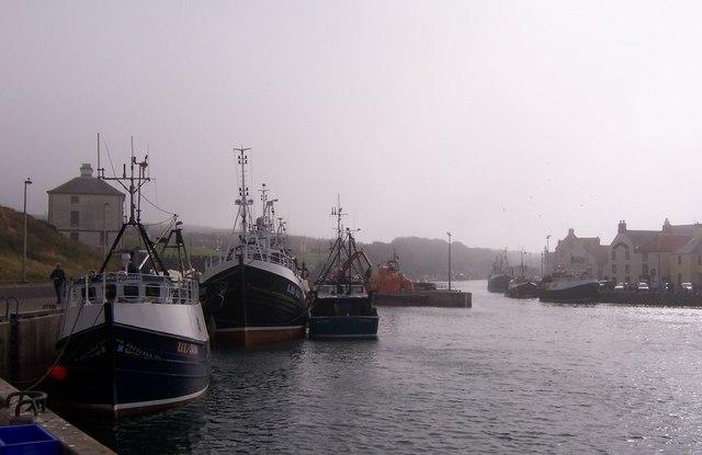 Fishing Boats at Eyemouth