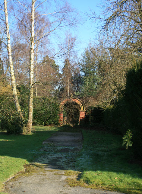 Arch at Wootton Court