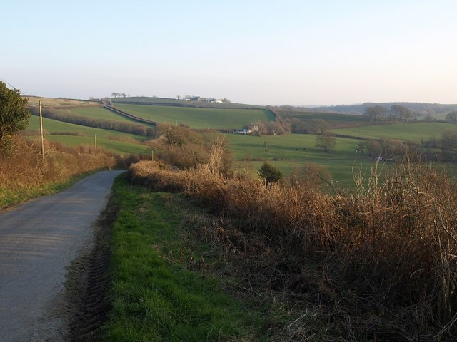 Lane below Gratton Cross
