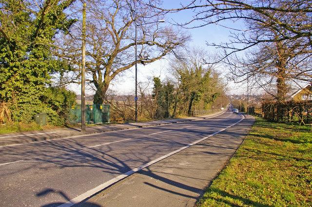 Enfield Road, Enfield, EN2, looking east