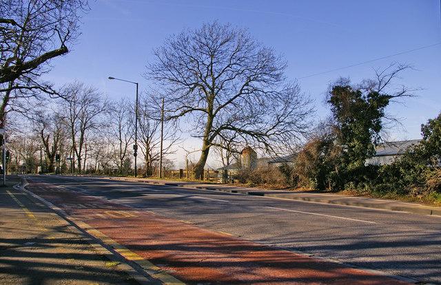 Enfield Road, Enfield, EN2, looking west