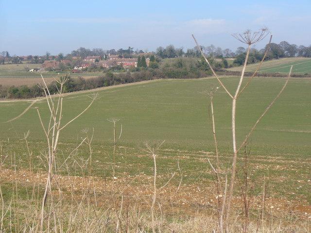 Downs South of Hannington