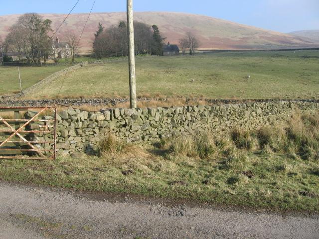 Glenries towards Conrig Hill