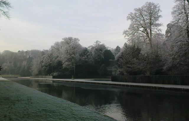 Water Gardens in Winter