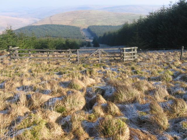 Craignorth Hill towards Clackleith Hill