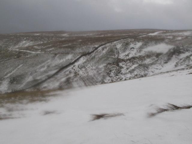 Moorland north of Race Head