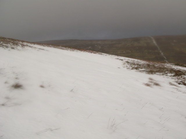 The northeast slopes of Black Hill