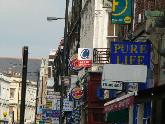 Signs of the Times - North End Road, SW6