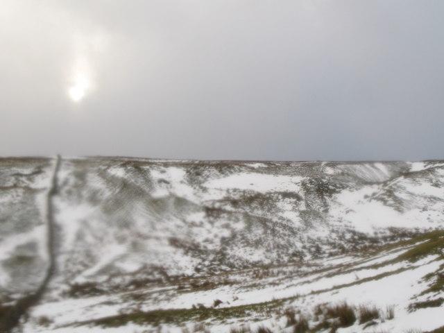 Moorland below Race Head