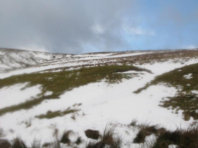 Moorland near Yearncleugh Head