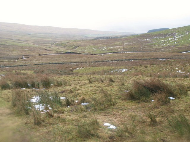 The valley of Middlehope Burn