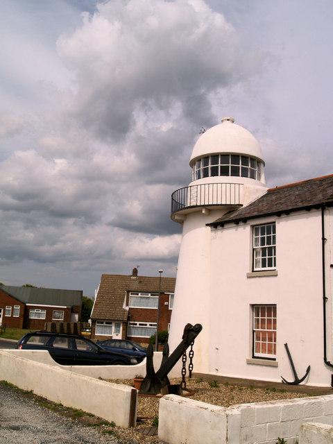 Paull village disused lighthouse