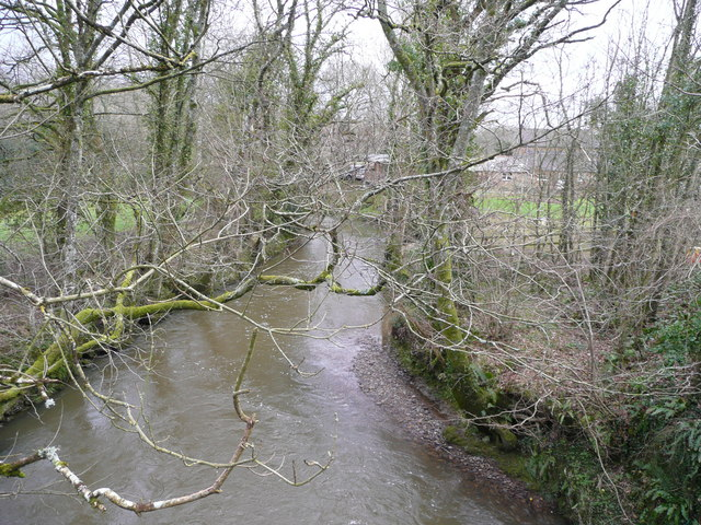 River Lew at Gribbleford Bridge