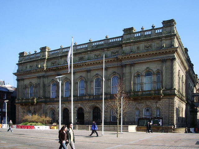 Blackburn Town Hall (Old part)