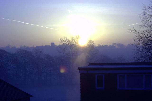 Dawn Over Chapel Allerton