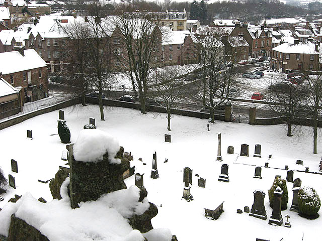 Melrose Abbey burial ground
