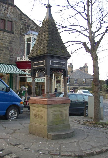 Drinking Fountain, Main Street / Station Road, Burley in Wharfedale