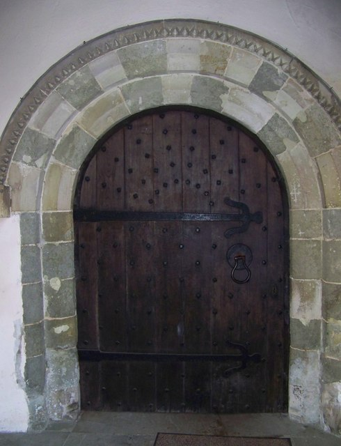 South Doorway, St Michael and All Angels, Coombe Bissett