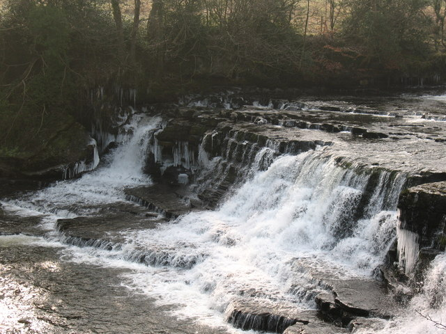 Aysgarth middle falls