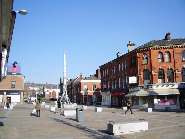 Suddell Cross, Blackburn