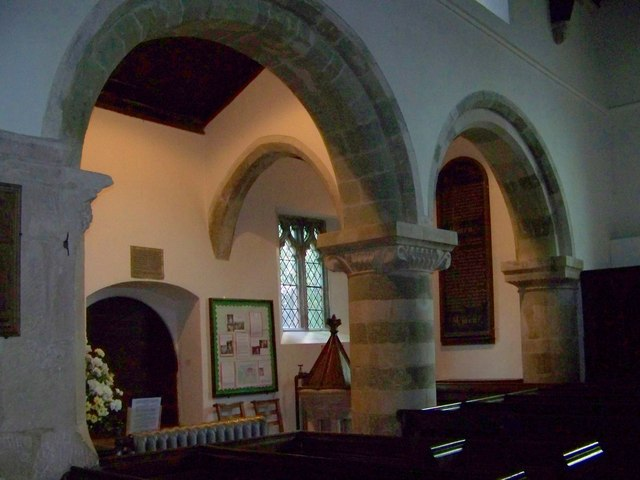 Arches, St Michael and All Angels, Coombe Bissett