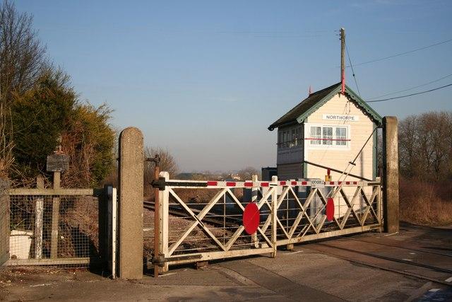Northorpe level crossing
