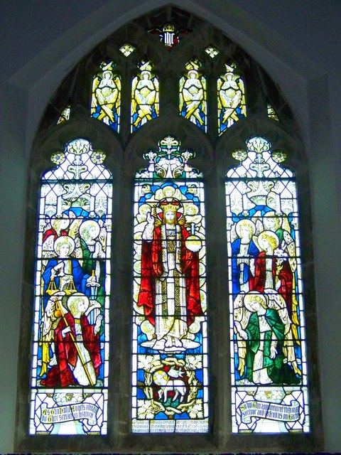 Stained Glass Window, St Michael and All Angels, Coombe Bissett