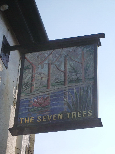 The Seven Trees, Whalley New Road, Blackburn, Sign