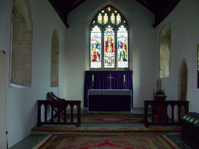 Chancel, St Michael and All Angels, Coombe Bissett