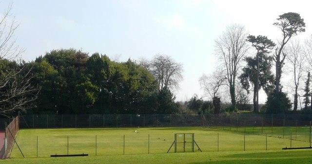 Tennis Courts, Oldway Mansion, Paignton