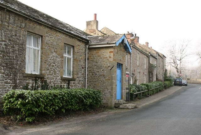 Village street at Constable Burton