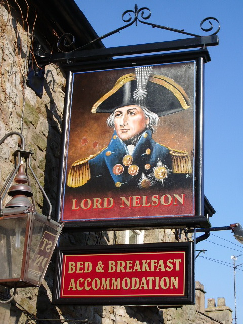 Lord Nelson, York, Langho, Sign