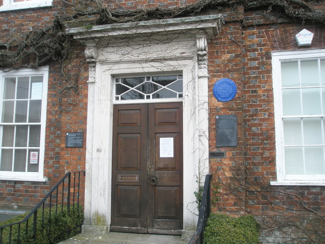 Entrance to The Old College