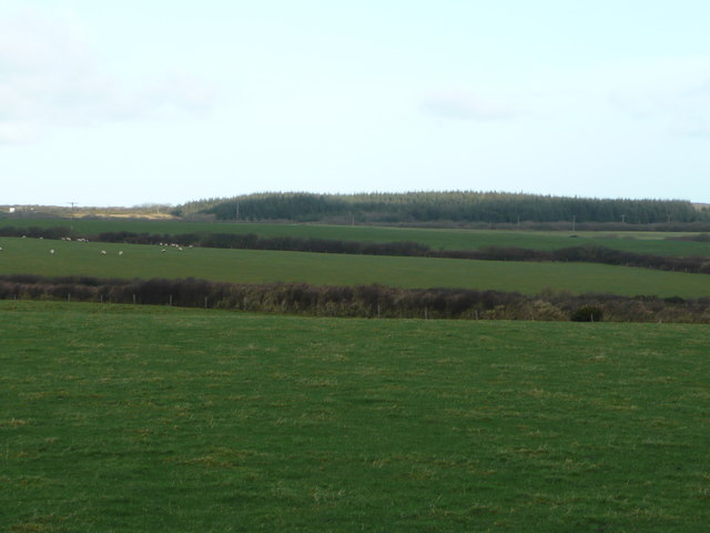 View north from Woolley Moor
