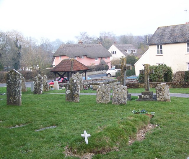 Churchyard, St Michael and All Angel, Coombe Bissett