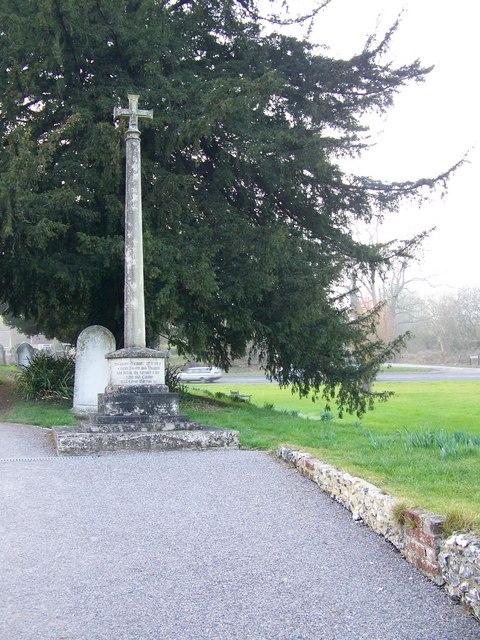 War Memorial, Coombe Bissett