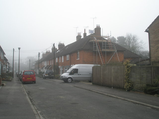 Building work in Madeline Road