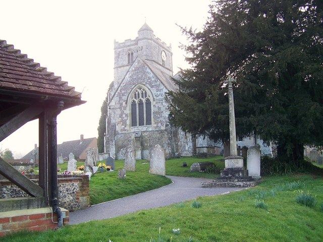 The Church of St Michael and All Angels, Coombe Bissett