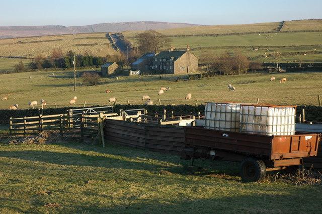 Blue Boar Farm, near Ginclough