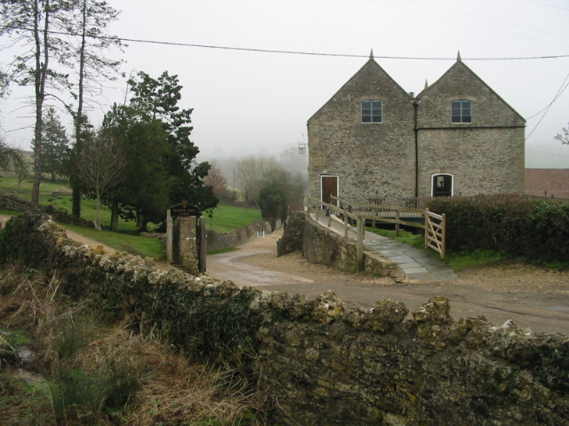 Priston Mill on a foggy February morning